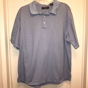 EUC Alan Flusser Golf Polo Size L.